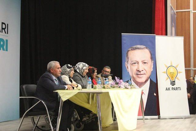 AK Parti Ağrı İl Kadın Kolları Kongresi yapıldı