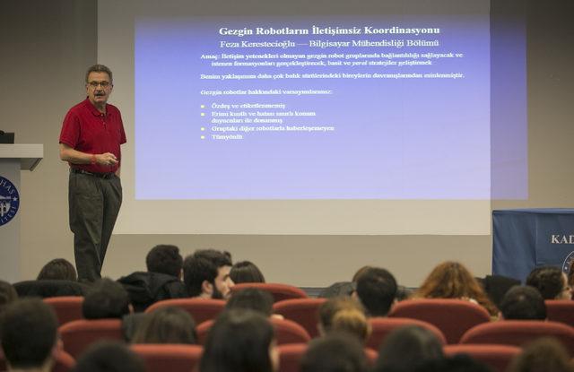 Prof. Dr. Nihat Berker'den öğrencileri proje yapmaya teşvik edecek uygulama