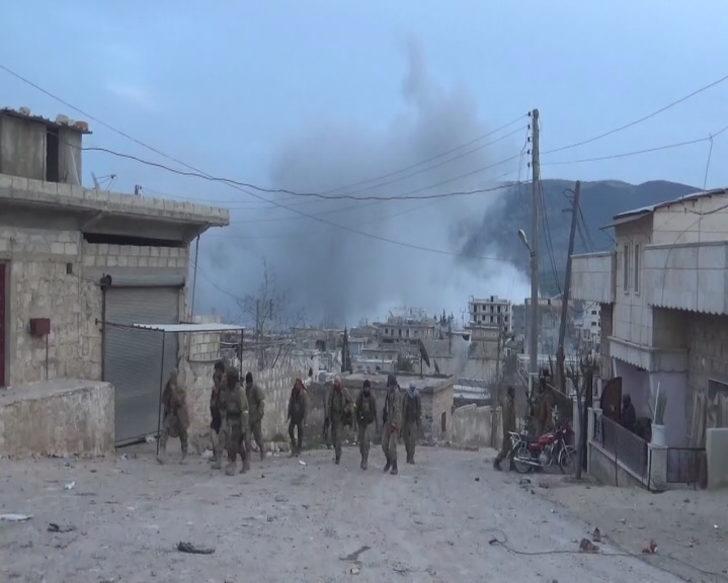 Raco'daki teröristler karadan ve havadan böyle vuruldu ile ilgili görsel sonucu