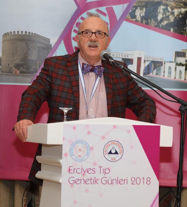 ERÜ'de Erciyes Tıp Genetik Günleri Başladı
