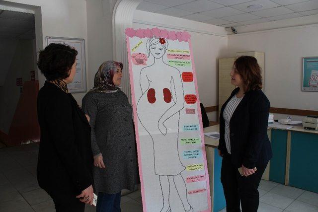 Vize Devlet Hastanesinde 8 Mart etkinlikleri