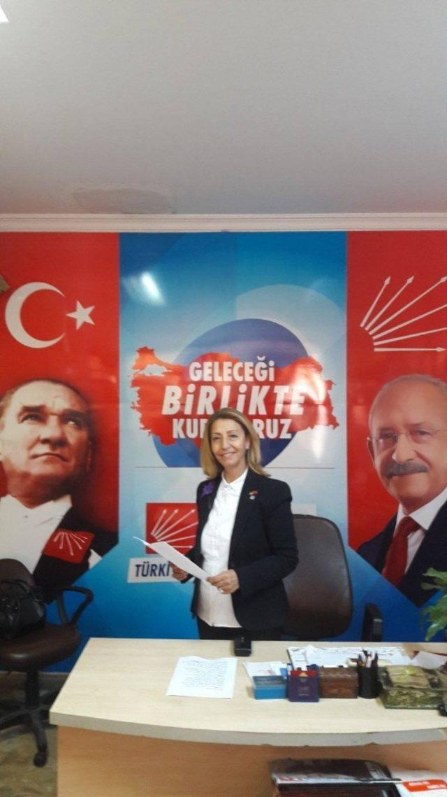 Ayvalık'ta CHP'li Kadınlardan 8 Mart açıklaması