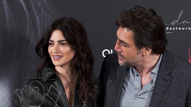 Penelope Cruz ve eşi Javier Bardem