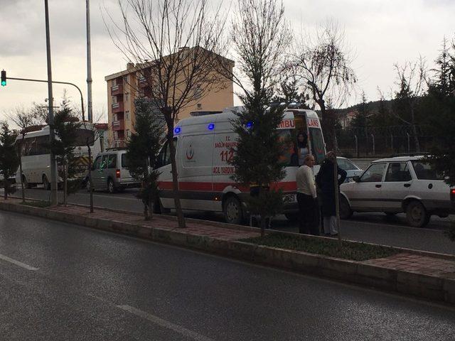 Kütahya'da zincirleme trafik kazası: 1 yaralı