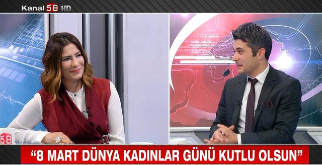 Merhum gazeteci İsmail Güneş'in eşi haber bülteni sundu