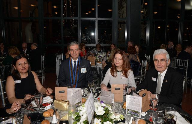 Karaköy Rotary Kulübü 8 Mart Dünya Kadınlar gününü kadın başkonsolos ve diplomatlarla birlikte kutladı