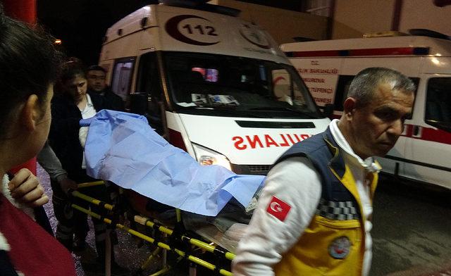 Maganda ateşi, 2 kişiyi yaraladı
