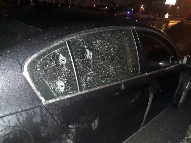 Kürşat Mican'ın içinde bulunduğu araca silahlı saldırı(1)