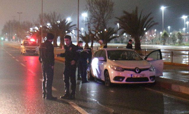 Sancaktepe'de başlayan kovalamaca Maltepe'de bitti: 1'i polis, 2 yaralı