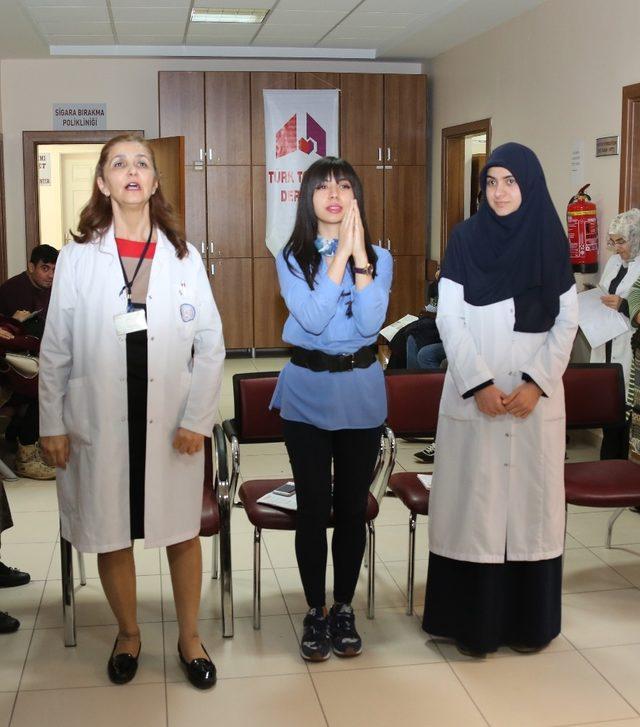 ERÜ Hastanelerinde 'Pulmoner Rehabilitasyon Haftası ' etkinliği düzenlendi
