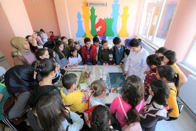 Başiskele Çocuk Üniversitesi Kartepe 'li öğrencileri ağırladı