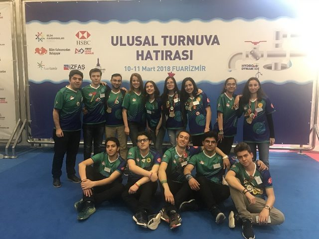 Bahçeşehir Koleji Robotik Alanında ulusal turnuvada