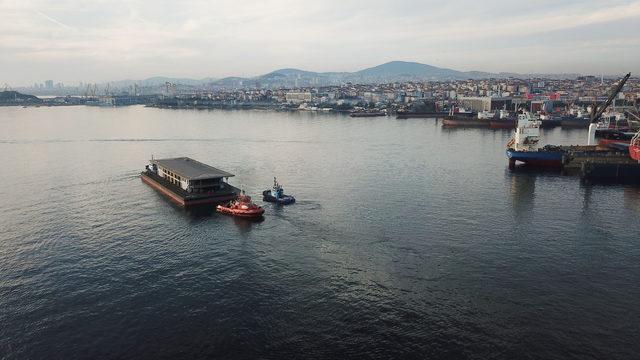 Yeni karaköy yolcu salonu Tuzla'dan yola çıktı
