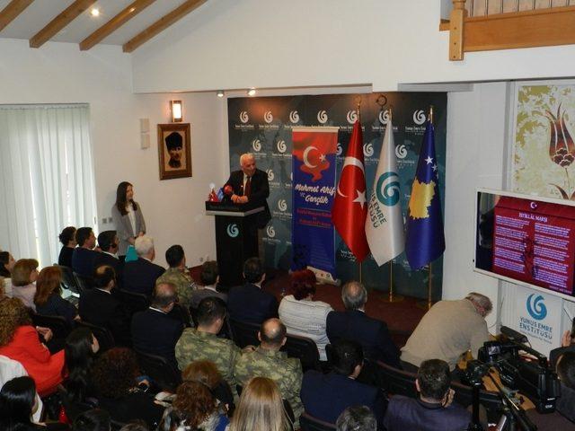 Kosova 'da İstiklal şairi Mehmet Akif Ersoy anıldı