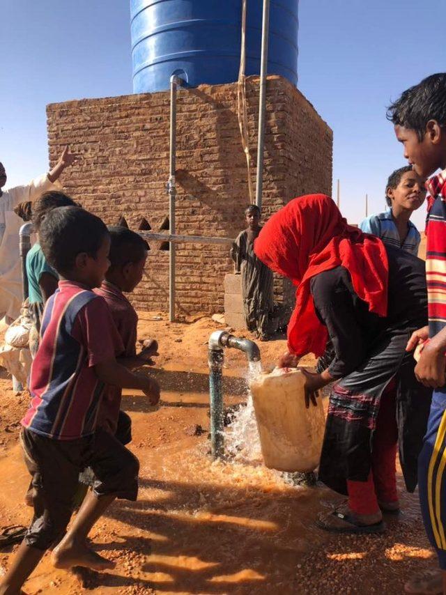 Sudan 'da yeni bir su kuyusu daha açıldı