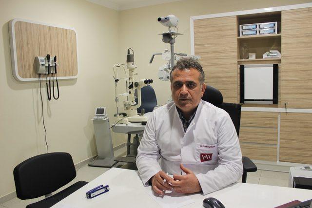 Opr. Dr. Tutarlı: Göz tansiyonu tedavi edilmezse körlüğe neden olabilir