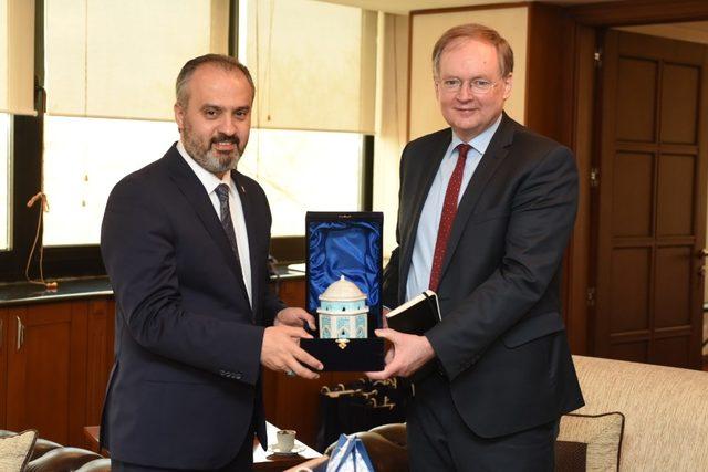 AB Türkiye Delegasyonu Büyükşehir'de