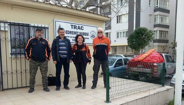 MAG ile Edremit Trac şubesinden Edremit Belediyesini ziyaret