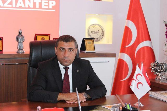 MHP Gaziantep İl Başkanı ali muhittin taşdoğan:
