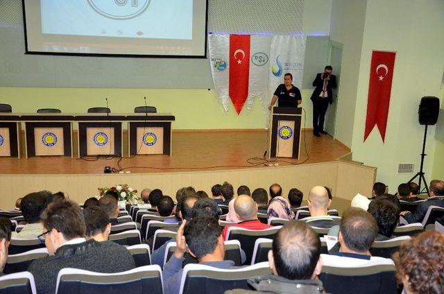 HRÜ 'de suyun önemi ve tasarruflu kullanılması anlatıldı