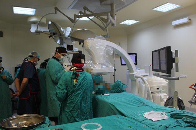 OMÜ'de 'Hibrit Ameliyathane ' hizmet vermeye başladı