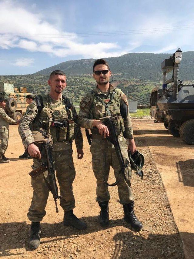 Afrin kahramanları Başkan Tekin 'e cepheden selam gönderdi