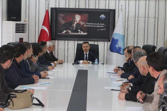 Vali Elban Ağrı 'da yapılacak projeleri anlattı