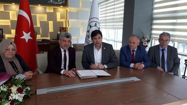 Yığılca Belediyesi 'nde sosyal denge sözleşmesi imzalandı