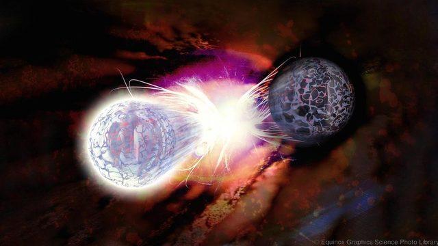 Parçacıklar ortaya çıkıyor ve yok oluyor