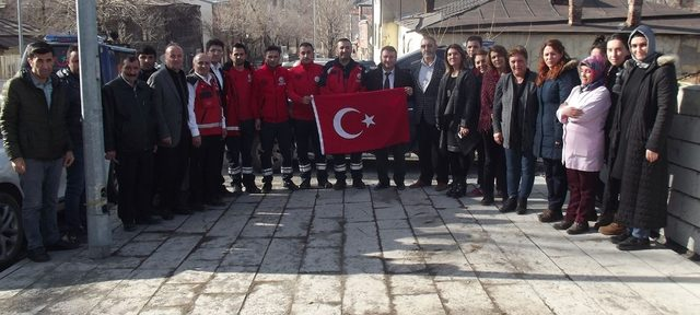 Kars UMKE ekipleri Kilis'e gitti