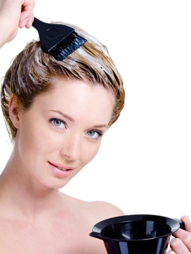 Saç boyasının' kalıcılığını nasıl artırırsınız 51