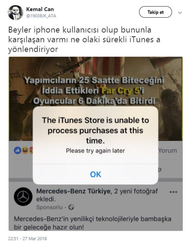 the itunes store is unable to process purchases перевод