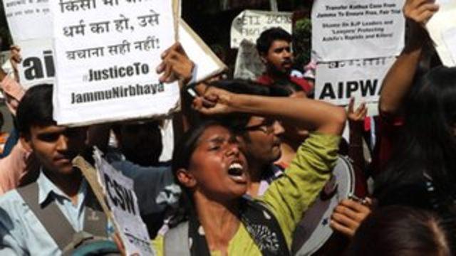 Hindistan'da sekiz yaşındaki kız çocuğuna toplu tecavüz