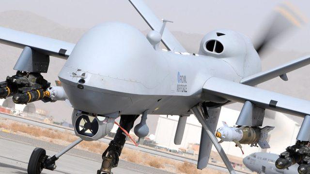 MQ-9 insansız hava aracı.