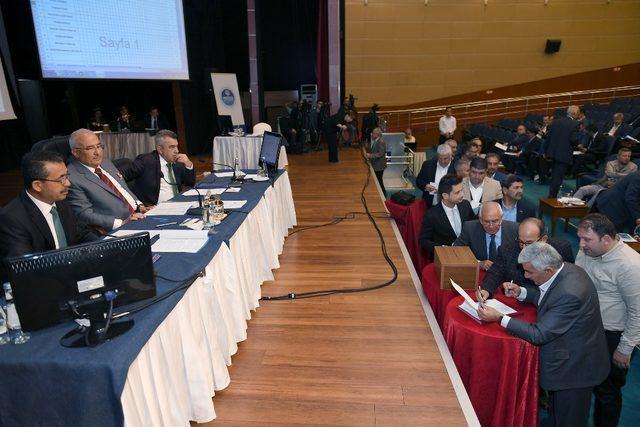 Büyükşehir Meclisi'nde Belediye Encümeni seçimi yapıldı