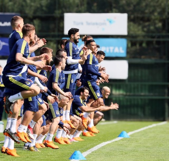 Fenerbahçe'de Demir Grup Sivasspor maçının hazırlıkları tamamlandı