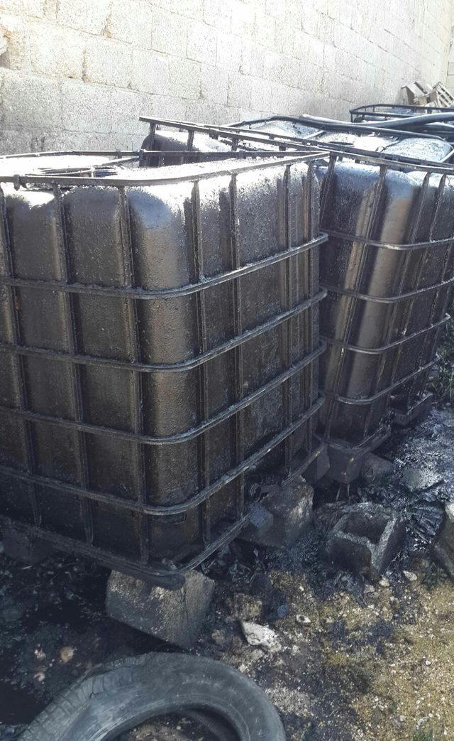 Depoda 35 bin litre kaçak akaryakıt ele geçirildi