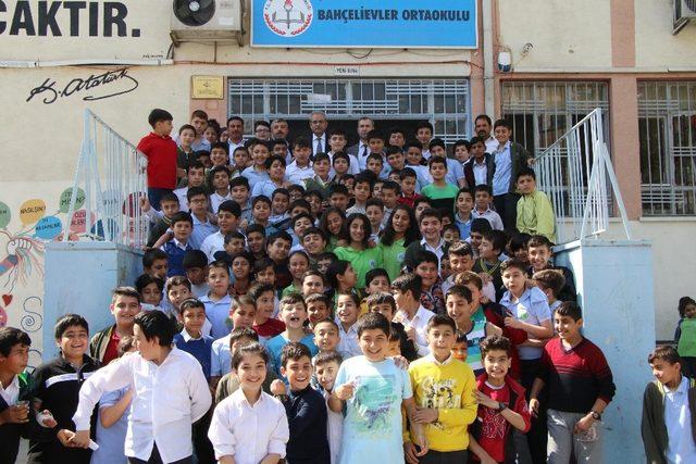 Haliliye'de öğrenciler deneme sınavı yapıldı