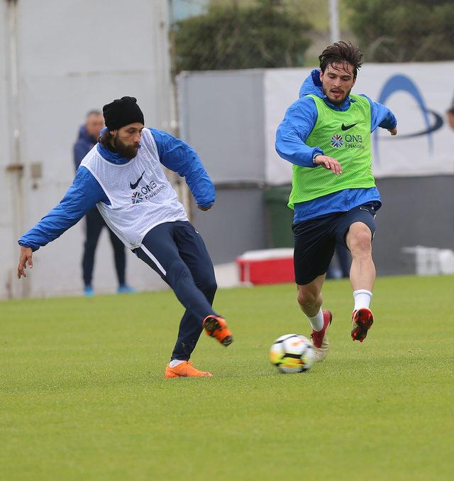 Trabzonspor, Osmanlıspor maçı hazırlıklarını sürdürdü