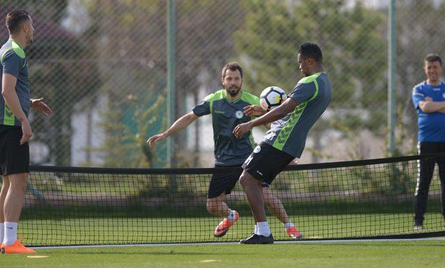 Atiker Konyaspor'da Antalyaspor hazırlıkları devam etti