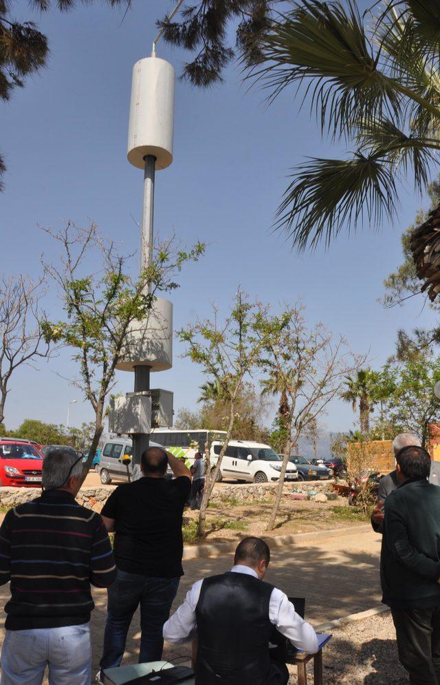 Okul ve park yakınındaki baz istasyonu davasında keşif yapıldı
