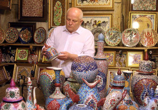 Ukrayna Başbaşkan Yardımcısı, Avanos'ta çanak yaptı