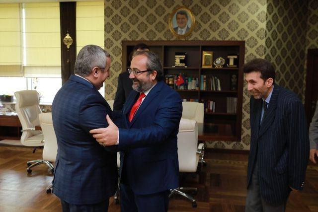 KARBAFED'den Başkan Baran'a kongre daveti