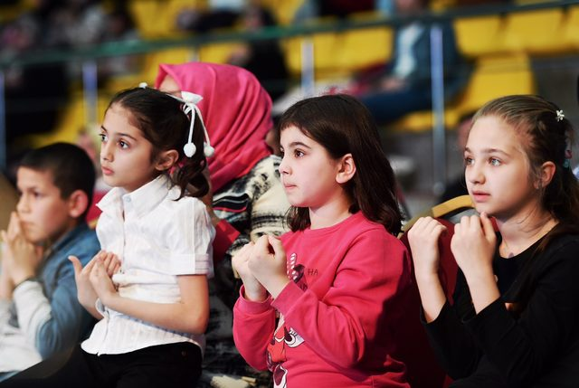 Beyoğlu'nda çocuklara özel kandil programı düzenlendi