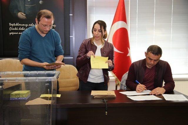Tokat TSO'nun yeni başkanı Ali Çelik oldu