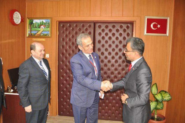 TGF Genel Başkanı Karaca'dan Cumhuriyet Başsavcısı Mehmet Özel'i ziyaret