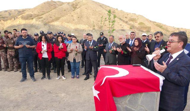 Eskişehir'de, Afrin şehitleri anısına 52 fidan dikildi
