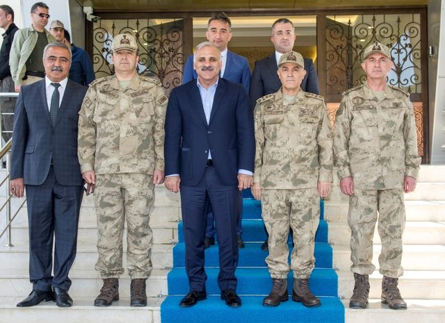 Jandarma Genel Komutanı Orgeneral Arif Çetin Van'da