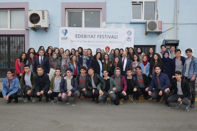 3. Uluslararası Trabzon Edebiyat Festivali limanda başladı