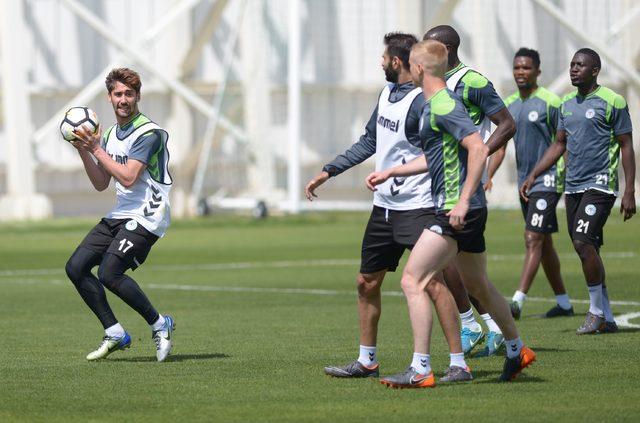 Atiker Konyaspor, Antalyaspor maçının hazırlıklarını tamamladı